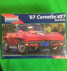 67 Corvette 427 Scale Model