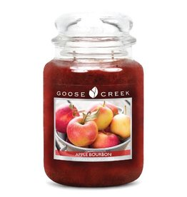 Goose Creek Apple Bourbon (Large) Jar Candle