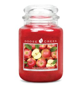 Goose Creek Macintosh Apple (Large) Jar Candle