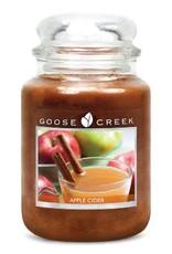 Goose Creek Apple Cider (Large) Jar Candle