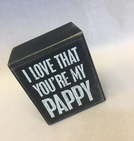 I Love That You're My Pappy