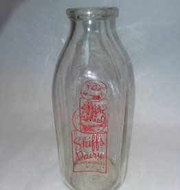 Skiff's Dairy Milk Bottle, 1 Quart, c.1960