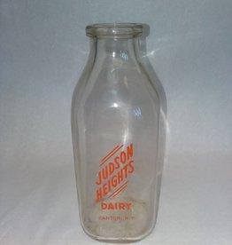 Judson Heights Dairy Milk Bottle, 1 Quart, c.1950