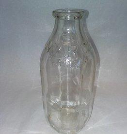 March Farms Milk Bottle, 1 Quart, c.1950