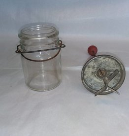 "Pint Jar Chopper, 12.75"" Tall, c.1940"