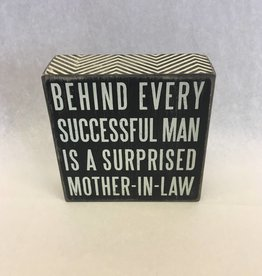 Behind Every Successful Man is a A Surprised Mother in Law