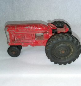 "Hubley Die Cast Kiddie Tractor, 5.5x2.5"", 1950's"
