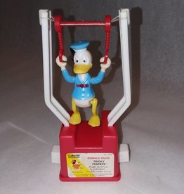 "Donald Duck Tricky Trapeze Toy, 5.5"", 1975"