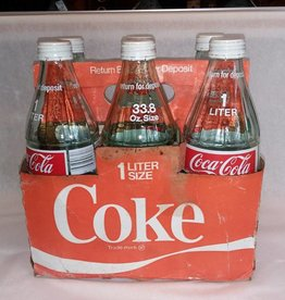 6 Pack of Coke Bottles