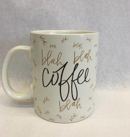 Coffee Blah Blah Blah Coffee Mug