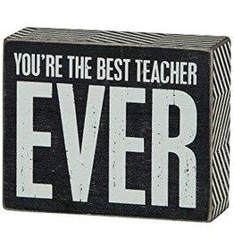 You're The Best Teacher Ever
