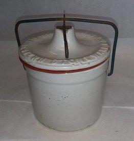 #3 Western Preserve Crock, 1/2 Gallon, E.1900's
