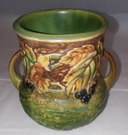 "Roseville Blackberry Vase, #570-5, 1933, 5.25"" Tall"