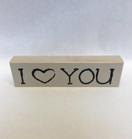 I Love You (Shelf Sitter)