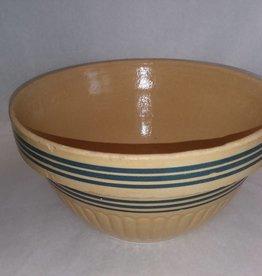 "Yellow-ware Mixing Bowl, 10.75"", c.1940"