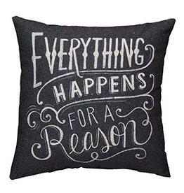 Everything Happens Pillow