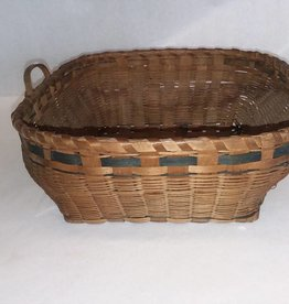 "Native American Made Basket, 10x10x5"", L.1800's"