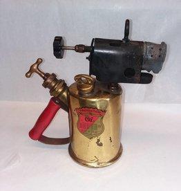 "Brass Blowtorch in Original Box, 11"", c.1900"