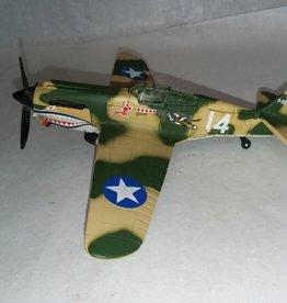 P-40B Tiger Shark Model, 1:72 Scale, L.1990's