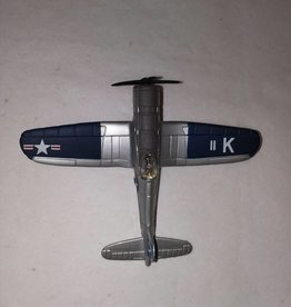 F4U-1D Navy Plane Model, 1:72 Scale, L.1990's