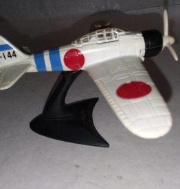 Mitsubishi A6M2 Zero Plane, 1:72 Scale, L.1990's