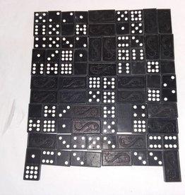 Double Nine Dominoes, Set of 56, Original Box, 1940's