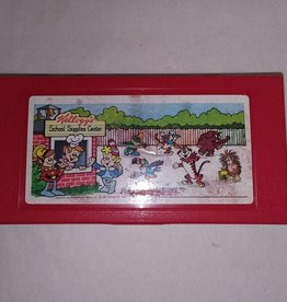 "Kellogg School Supplies Pencil Box, 8x4"", 1980"