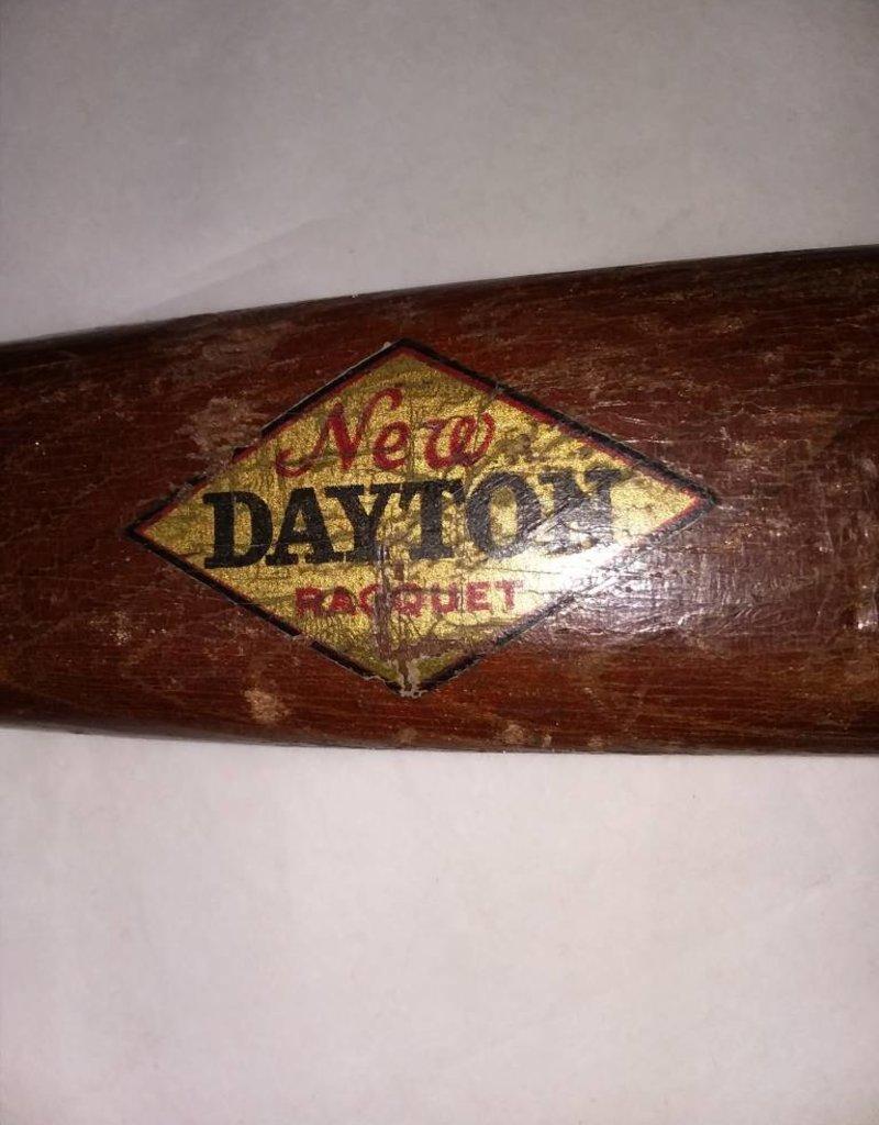 "1920's Dayton All Steel Tennis Racket, 27"" Long"