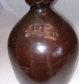 Brown Glaze 1 Gallon Stoneware Jug