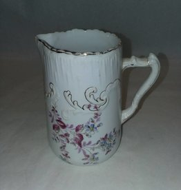 Cream/Syrup Floral Pitcher, Made in Germany, L.1800's