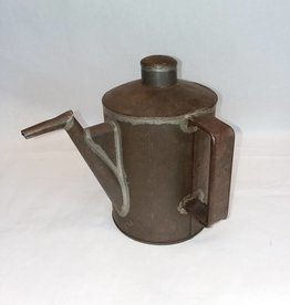 "Railroad Oil Can, No Markings, 8.25"", c.1900"