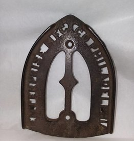 "Enterprise Cast Iron, Iron Rest, w/3 feet, 6.25"", L.1800's"