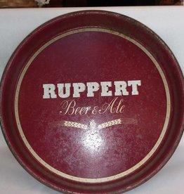 "Ruppert Beer&Ale Tray, 13.5"" Diameter, c.1960"