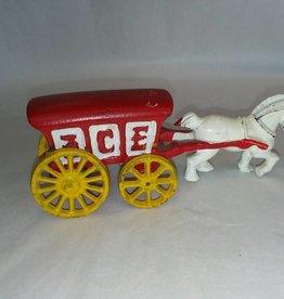 """Repro. CI Ice Wagon7.25"""" L., 1970's-80's."""