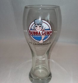 Bubba Gump Pilsner Beer Glass, Souvenir,20 Ounce, 1990's
