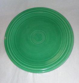 "Early Fiesta Green Luncheon Plate, 9.5"", c.1940"