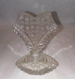 Bohemian Cut Glass Perfume Bottle