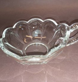 "Heisey Glass Colonial Panel Jelly Bowl, 5"", 1940's"