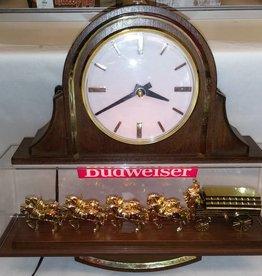 """Budweiser Light/Clock, 17""""x16""""x4 1/8"""", c.1970"""