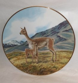 "The Vicuna Plate, Endangered Species, 8.5"", 1991"