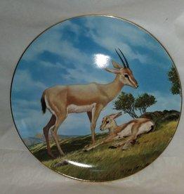 """Slender-Horned Gazelle, Endangered Species, 8.5"""", 1990"""