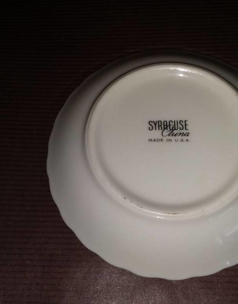 "100 Year Anniversary Syracuse China Plate, 3.75"", 1971"