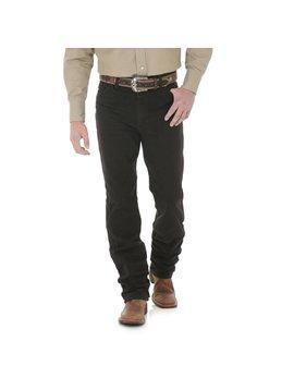 Wrangler Mens Black Chocolate Slim Fit Jeans 936KCL
