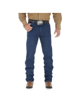Wrangler Mens Original Fit Prewashed Jeans 13MWZPW