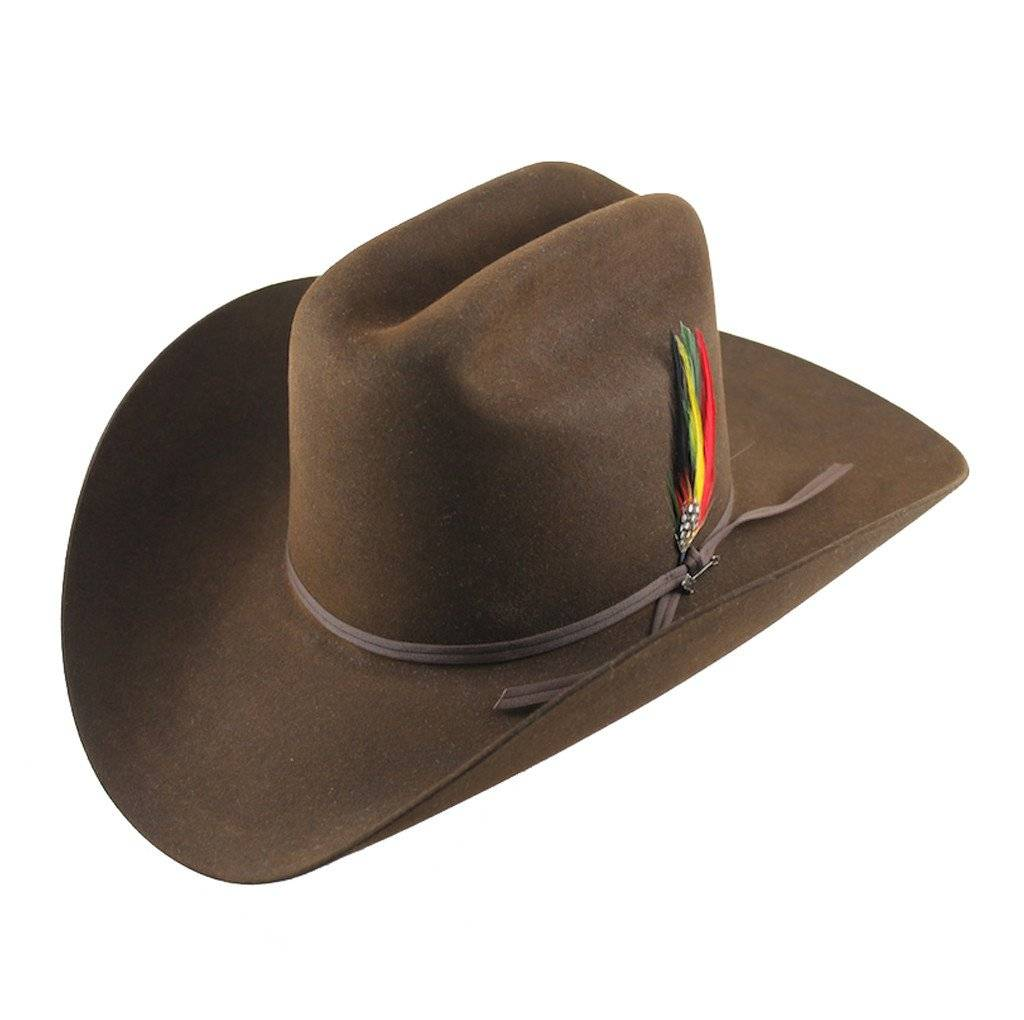 Stetson Hat Rancher 6X Chocolate  SFRNCH-01402271