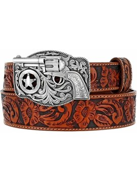 Leegin Kid's  Little Trigger Belt Tan C30124