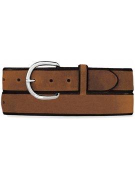 Leegin Men's Aged Bark Blue Light Special Belt K1209