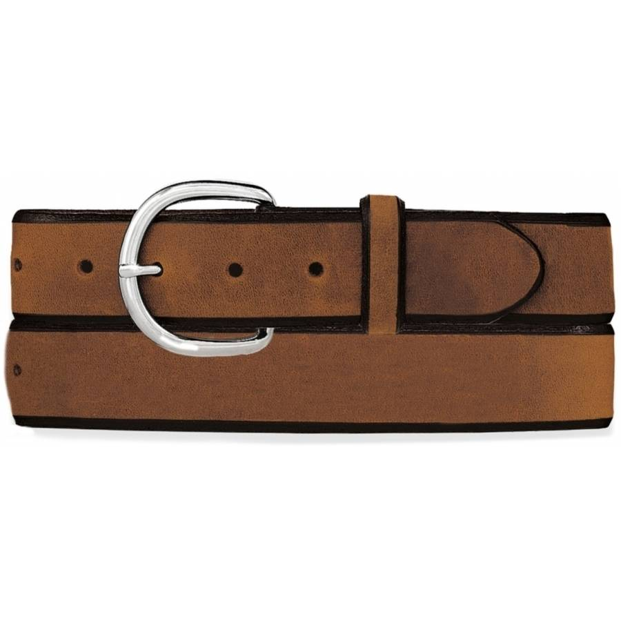 Leegin Men's Aged Bark Blue Light Special Belt K1209