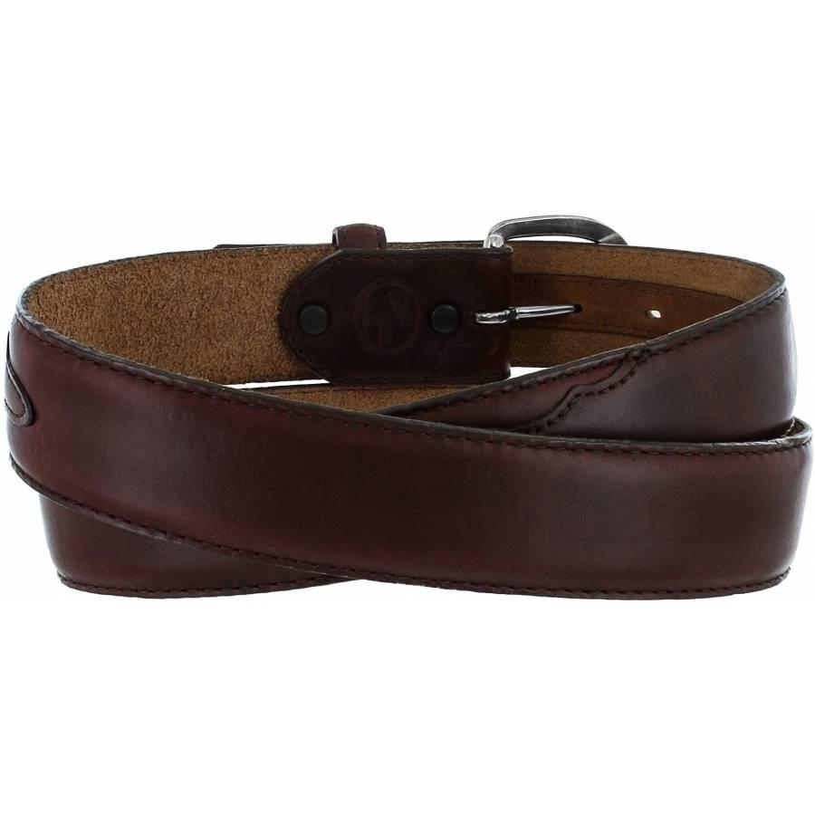 Leegin Men's Brown Oil Classic Western Belt 53717