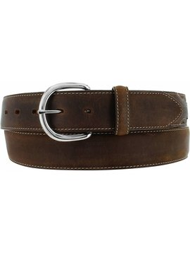 Leegin Men's Brown Classic Western Belt Big Sizes X5409